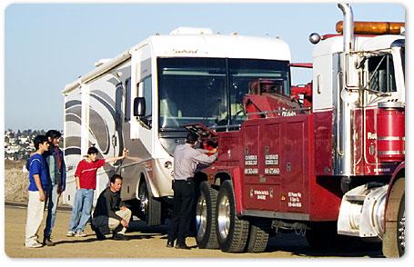 RV Towing in Kansas City